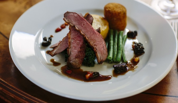 Food at The Crown and Cushion Welburn