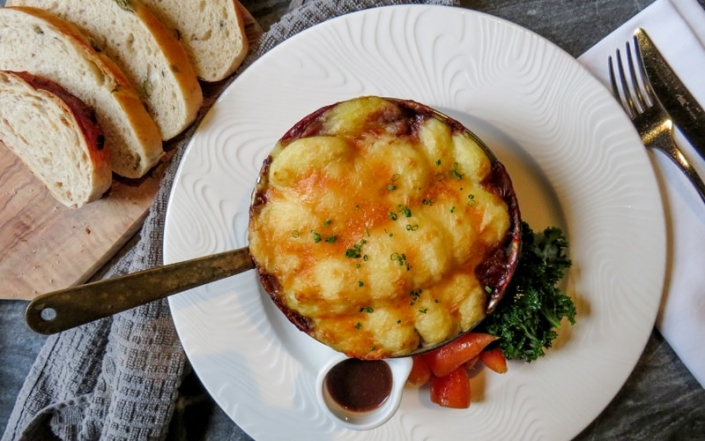 Food at The Crown & Cushion Welburn - The Scrumptious Seven - Shin Beef Cottage Pie