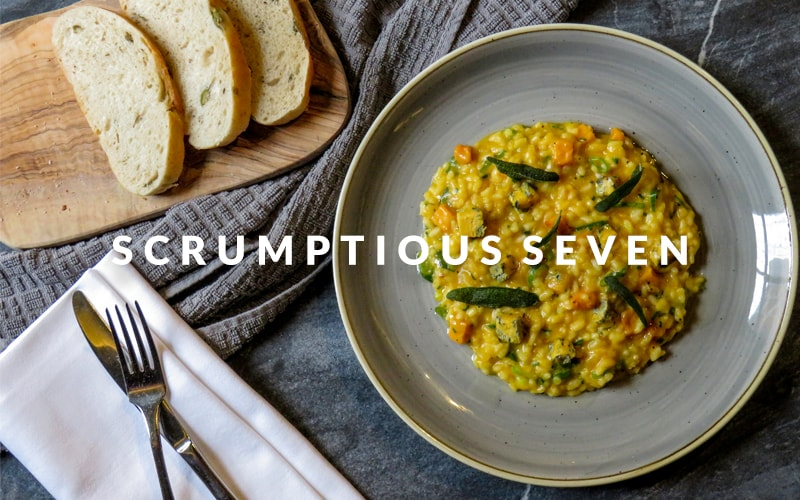 Food at The Crown & Cushion Welburn - The Scrumptious Seven Mobile