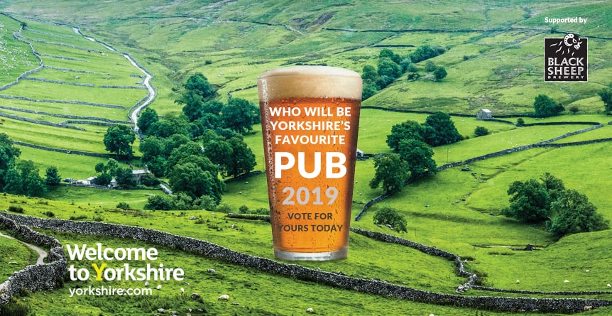Yorkshire's Favourite Pub 2019 - Vote for The Crown & Cushion